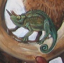 Chameleon Detail