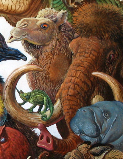 Menagerie – Mammoth Detail
