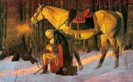 The Prayer at Valley Forge by Arnold Friberg