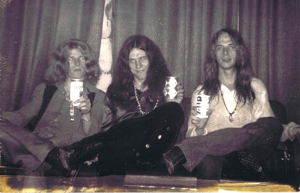 Blue Cheer (L to R: Dickie Peterson, Leigh Stevens, Paul Whaley)
