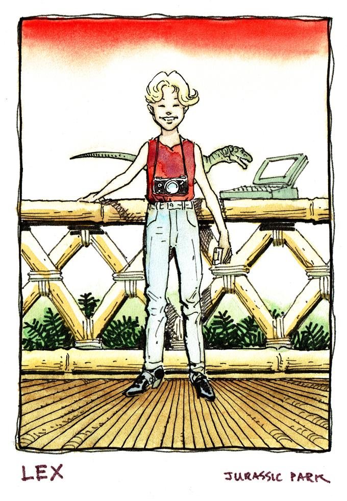 Verworfene Jurassic Park Zeichentrickserie - Seite 2 SaleJPLex
