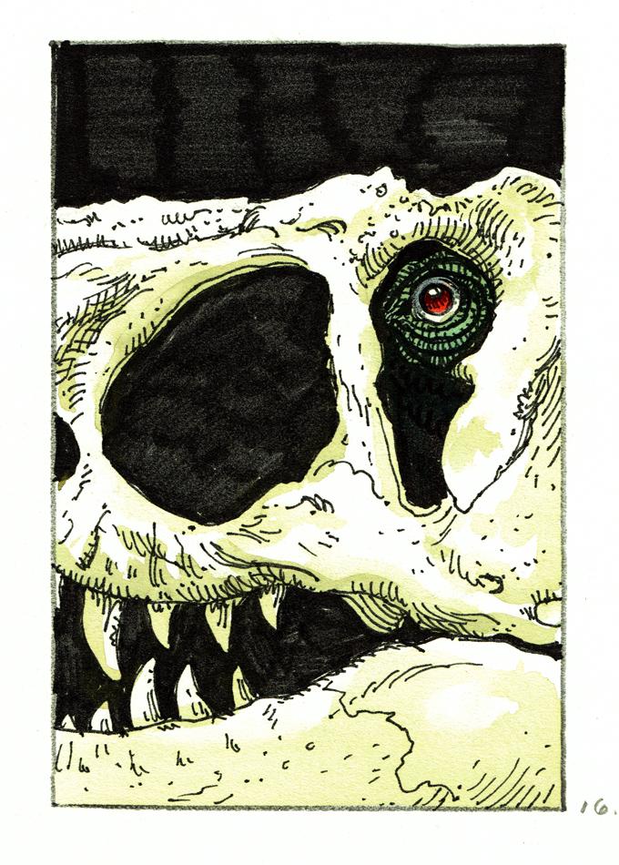 Verworfene Jurassic Park Zeichentrickserie - Seite 2 SaleJPSkullEye